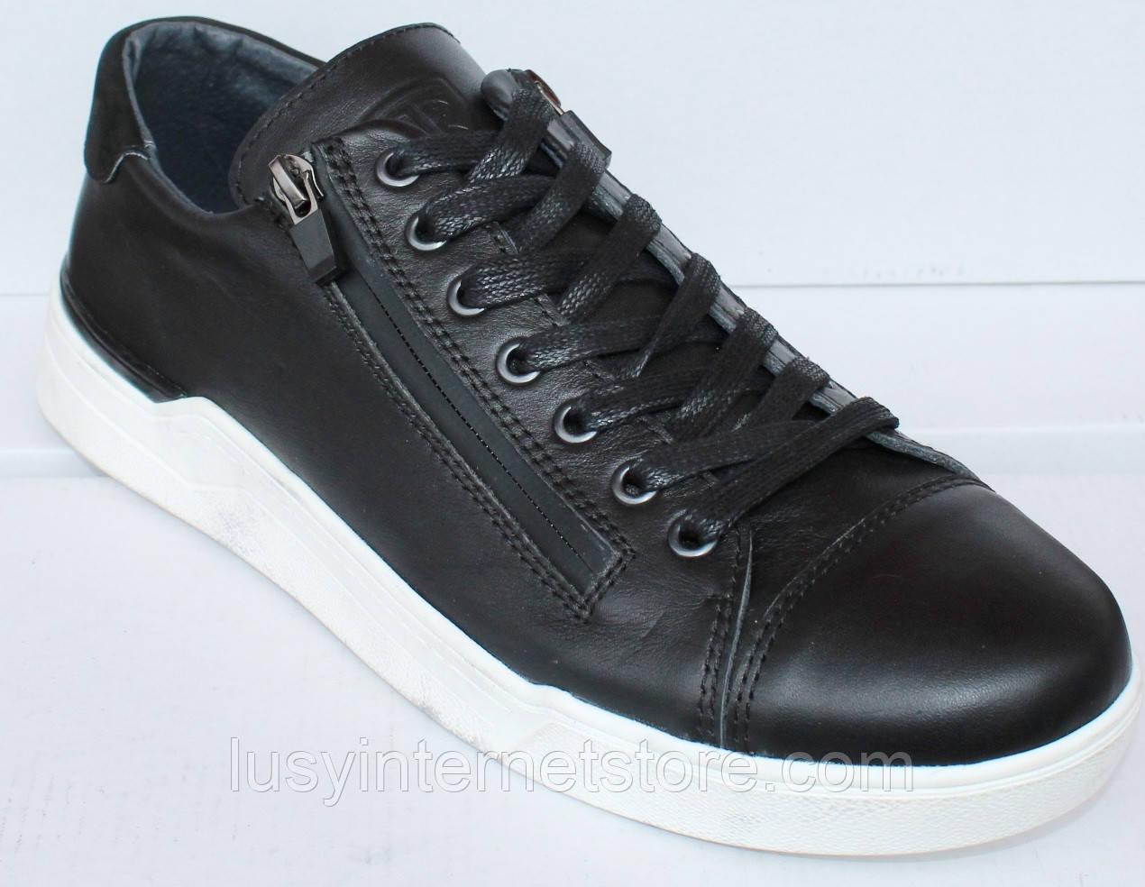 Туфлі шкіряні чоловічі на шнурках від виробника модель ТР16