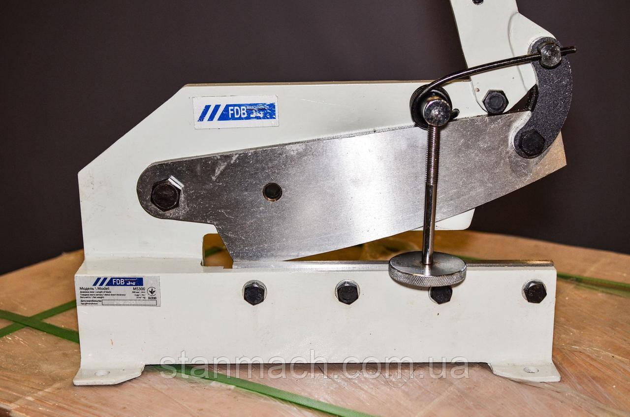 FDB Maschinen MS300 важільні ножиці по металу