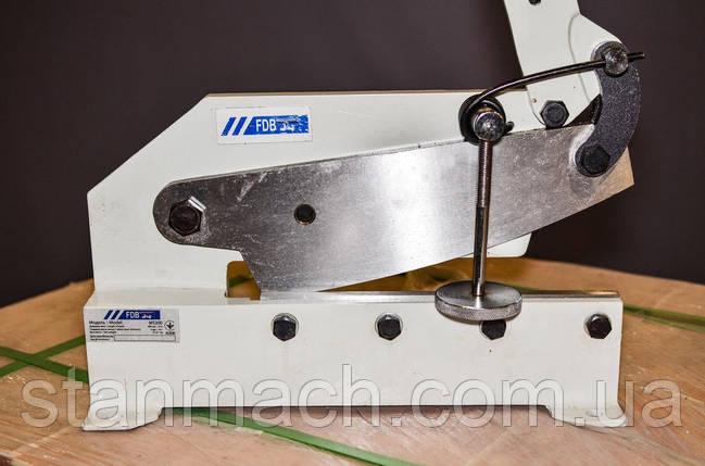 FDB Maschinen MS300 важільні ножиці по металу, фото 2