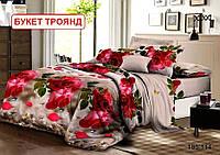 Полуторний комплект постільної білизни - Букет троянд