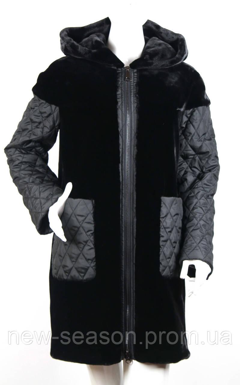 Куртка (пальто) из искусственного меха Esocco J15009-1
