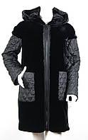 Куртка (пальто) из искусственного меха Esocco J15009-1, фото 1