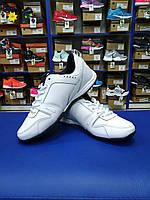 Мягкие спортивные туфли белые Бона (р.36-46)
