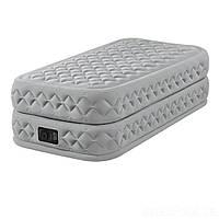 Надувная кровать Intex 64488, 99 х 191 х 51, со встроенным электрическим насосом. Односпальная, фото 1