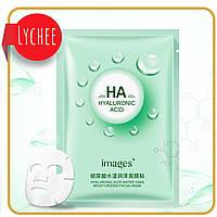 Тканевая маска для лица Images Hyaluronic Acid Moisturizing& Hydrating Mask с гиалуроновой кислотой 30 г