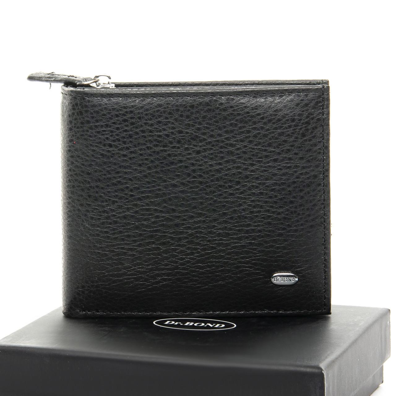 Кошелек Classic кожа DR. BOND M54 black