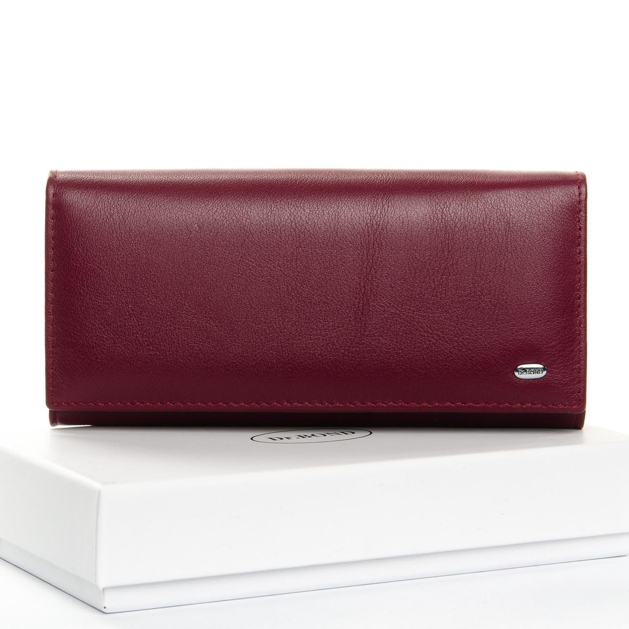 Кошелек Classic кожа DR. BOND W1-V-2 purple-red