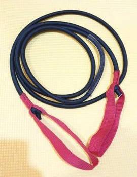 Многожильный борцовский жгут эспандер резина в оплётке толщина 12 мм длина 3 метра