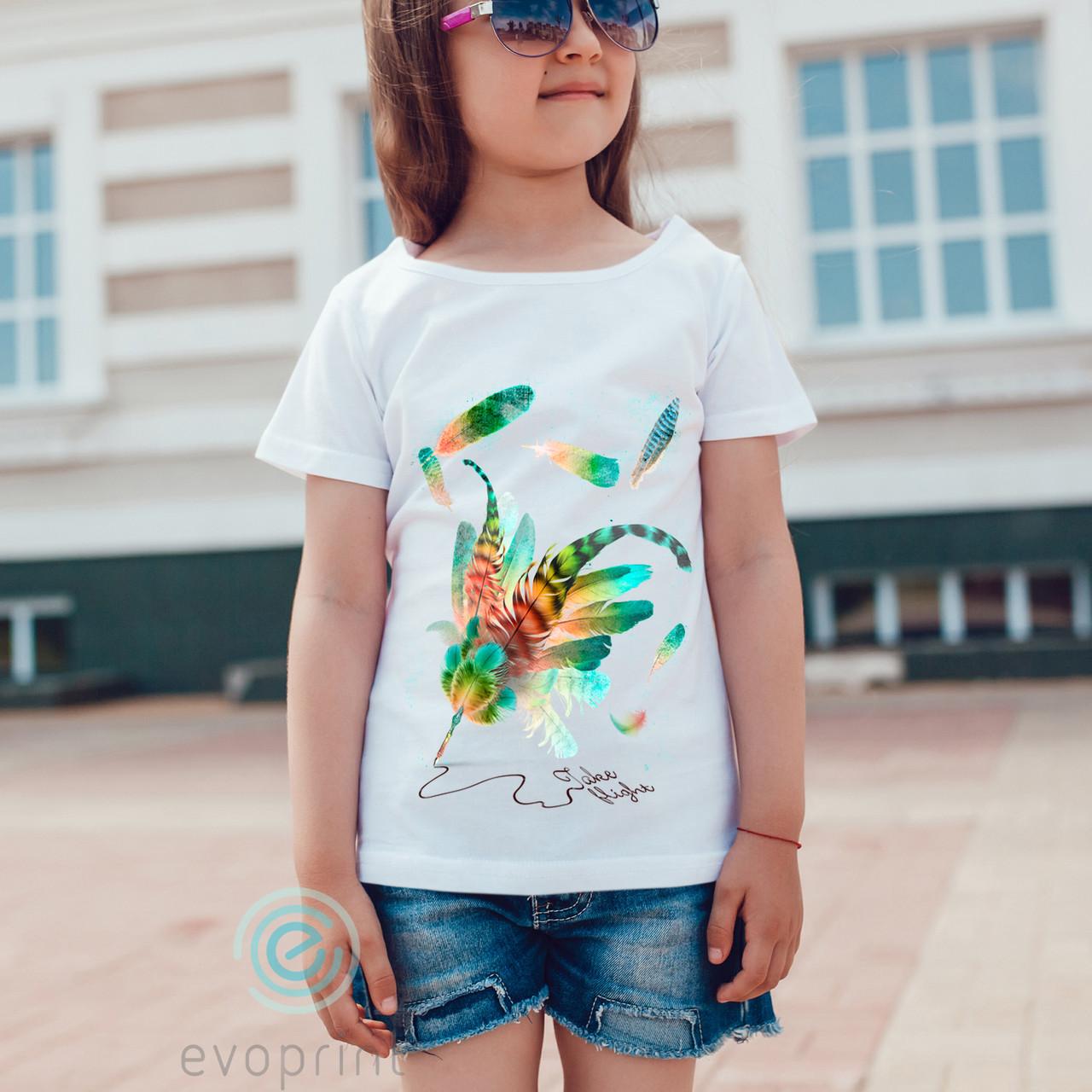 Качественная печать на детских футболках 100% коттон