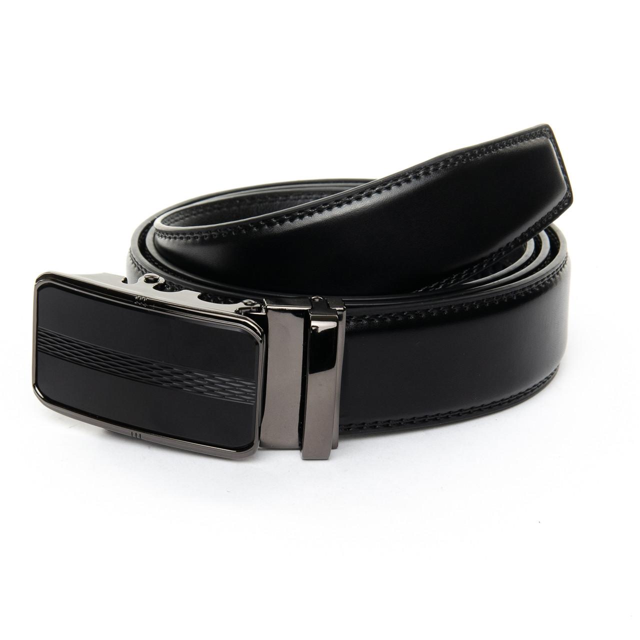 Ремень Мужской кожа 25-DM-6433-2 black