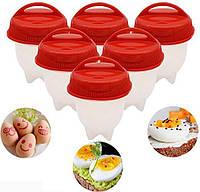 Силиконовые формы для варки яиц Silicon Egg Boil, силиконовые контейнеры