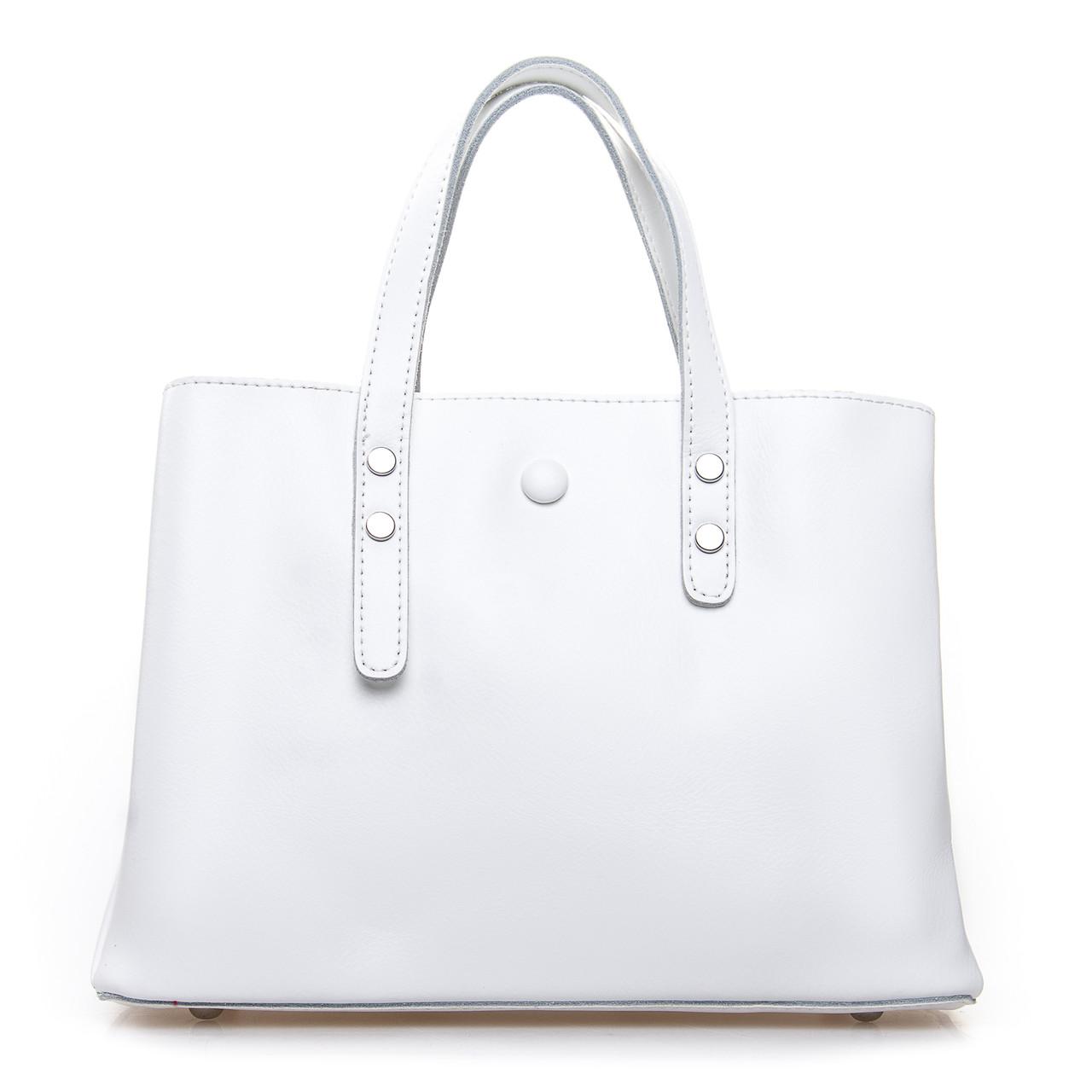 Сумка Женская Классическая кожа ALEX RAI 2-02 349 white