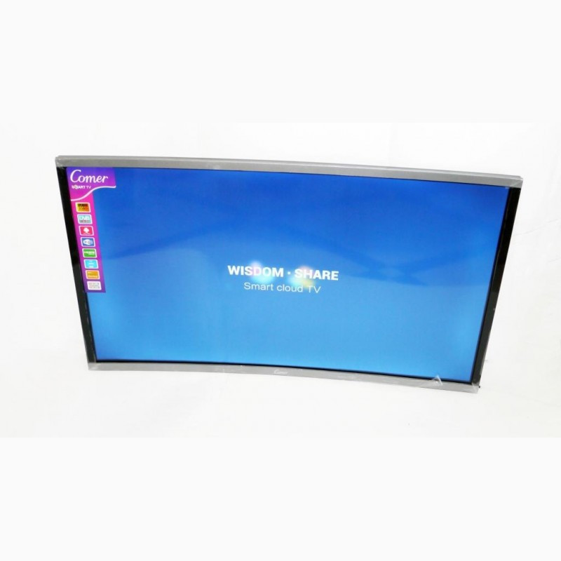 "Вигнутий телевізор Comer 32"" Smart TV Android 7.0 FullHD/DVB-T2/USB"