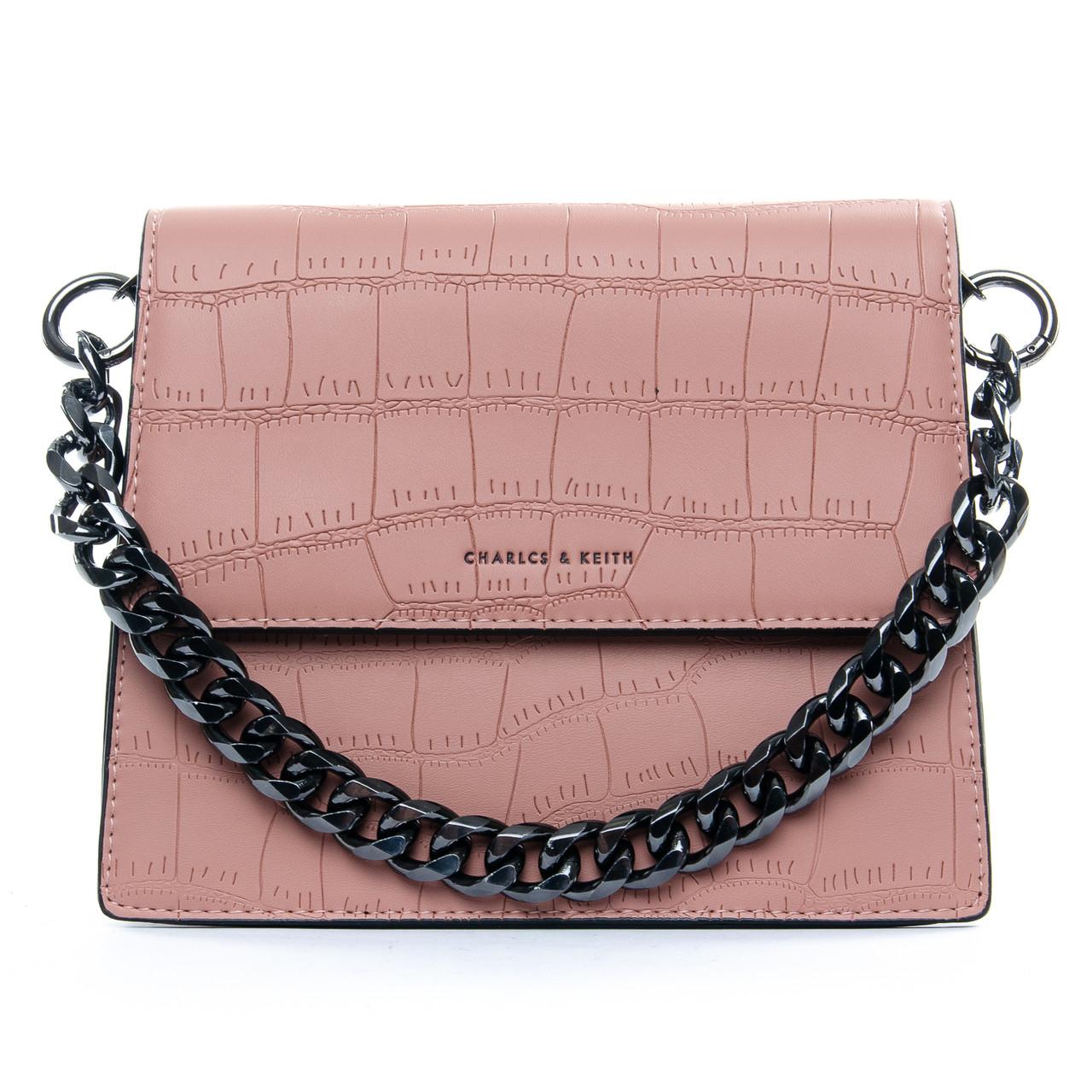 Сумка Женская Клатч иск-кожа 1-01 16863 pink
