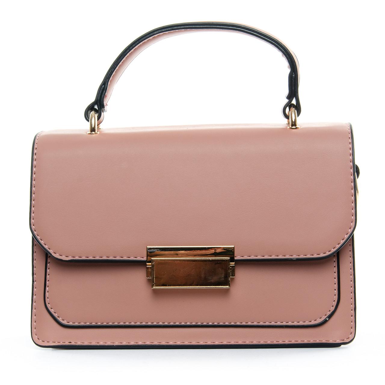 Сумка Женская Клатч иск-кожа 1-01 3009 pink