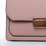 Сумка Женская Клатч иск-кожа 1-01 3009 pink, фото 2