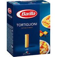 Макароны твердых сортов Barilla Tortiglioni n.83, ( барилла трубочки) 1кг