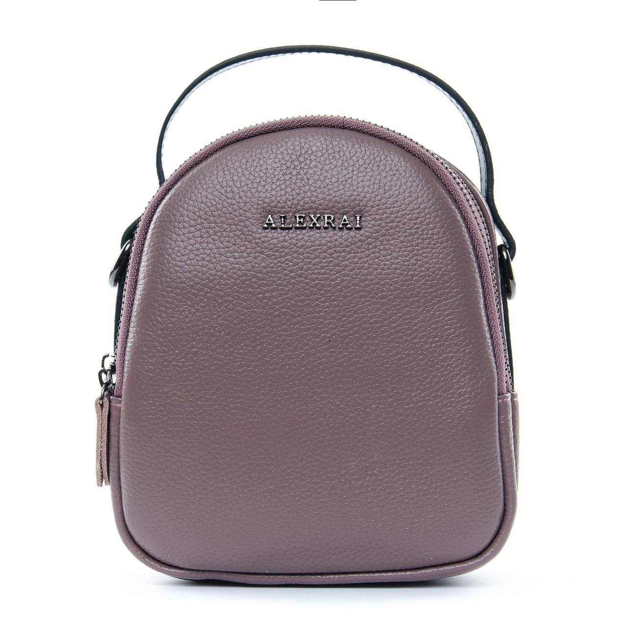 Сумка Женская Клатч кожа ALEX RAI 1-02 3902-3 purple