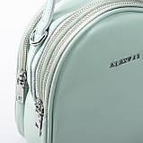 Сумка Женская Клатч кожа ALEX RAI 2-01 2228 green, фото 2