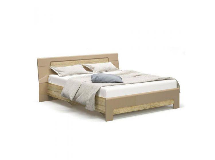 Кровать Флоренс 160 (каркас без ламелей) секвоя