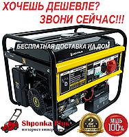 Генератор бензиновый 6,5 кВт, 380/220, 3/1 фазы Кентавр КБГ-605Э/3