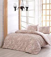 Комплект постельного белья ранфорс евро Marie Claire Kayra