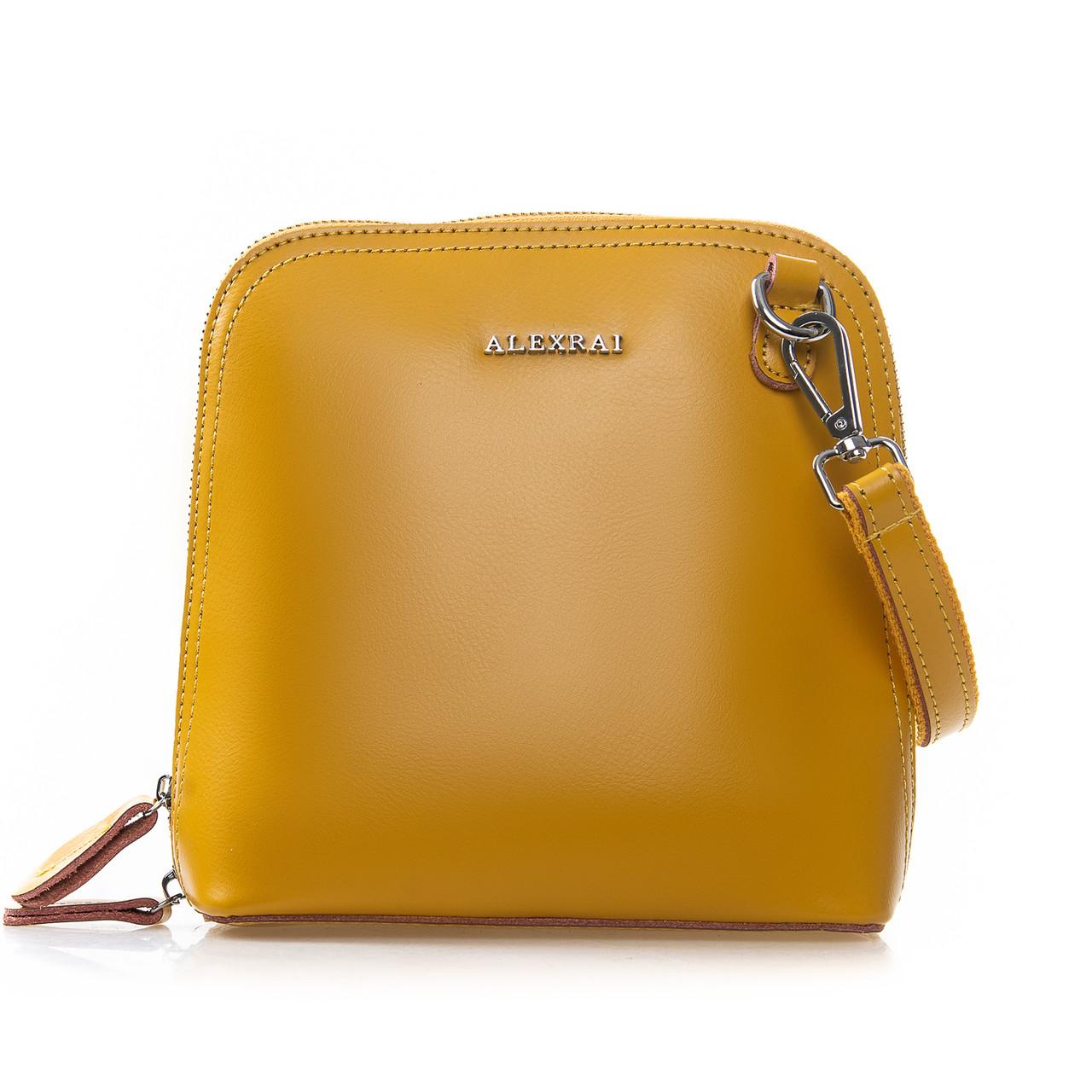 Сумка Женская Клатч кожа ALEX RAI 2-01 8803 yellow