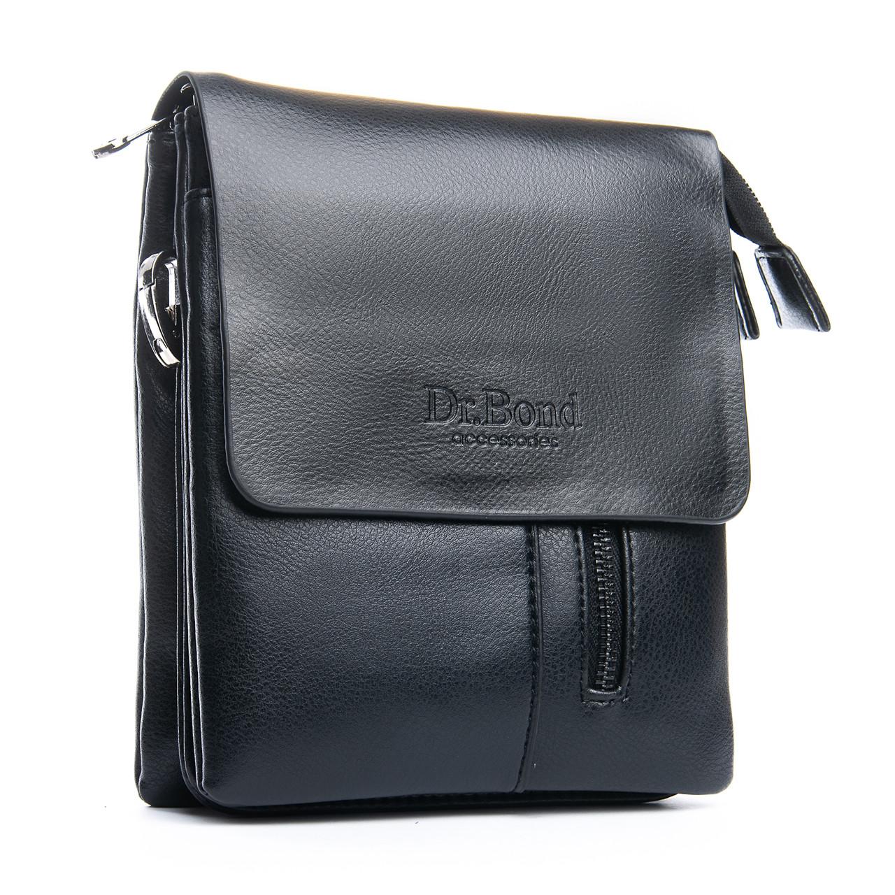 Сумка Мужская Планшет иск-кожа DR. BOND GL 218-1 black