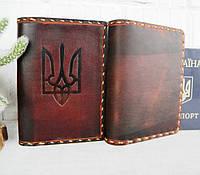 Кожаная обложка паспорта, фото 1