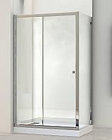 Душова кабіна Besco Duos 130х90 + піддон 11,5см