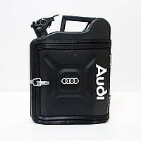 Канистра-бар 10 л. «Audi» Черный