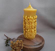 Свічка воскова Дерево життя з натурального бджолиного воску