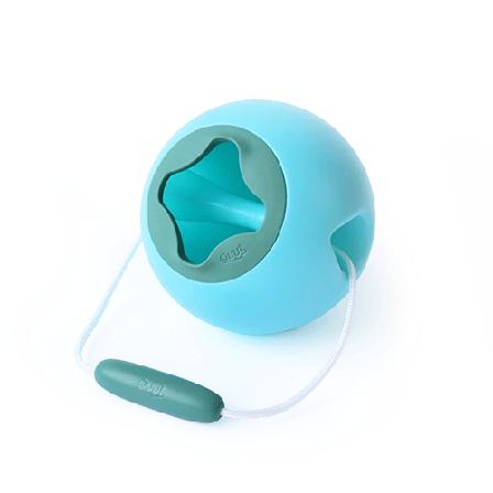 Сферичне відро Quut Mini Ballo (блакитний+зелений) (171188), фото 2
