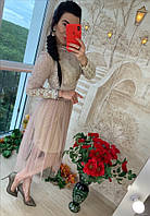 Женское  нарядное платье Класса Люкс РАЗНЫЕ ЦВЕТА