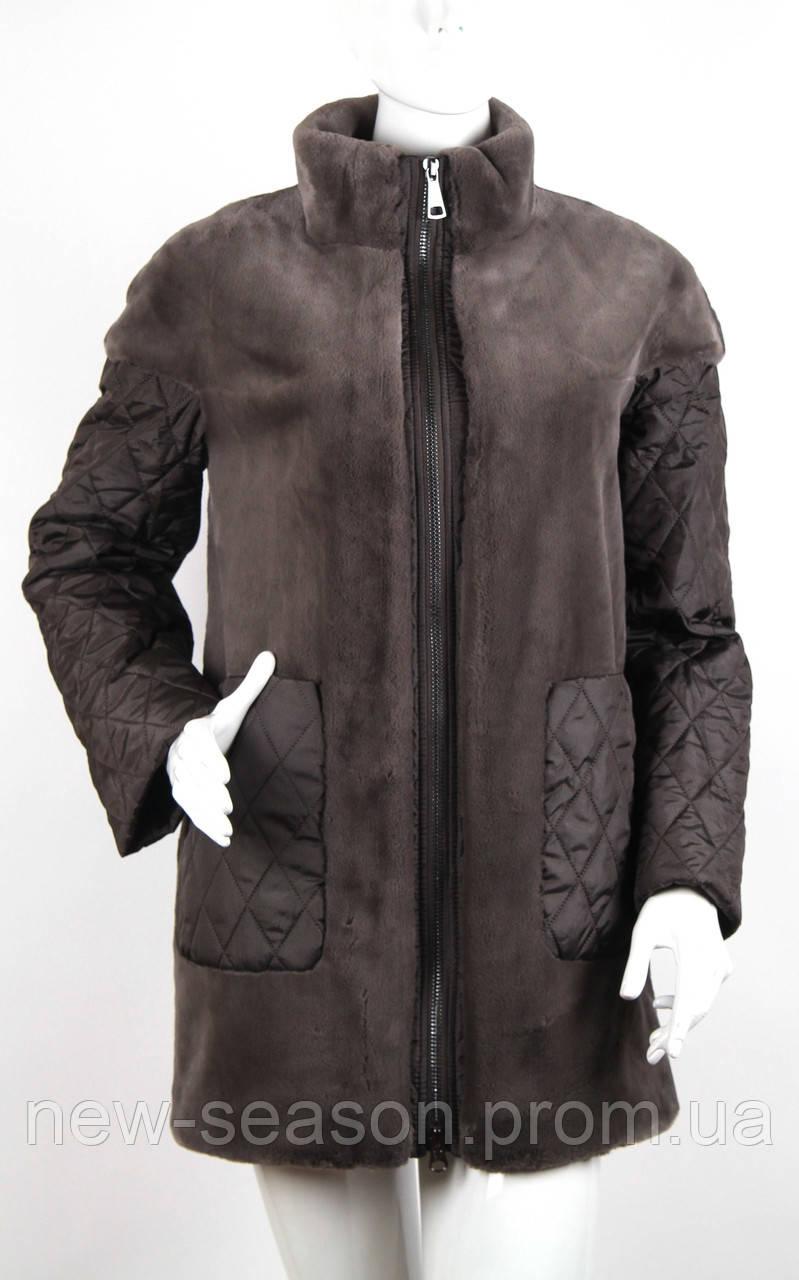 Куртка (полупальто) из искусственного меха Esocco J15009