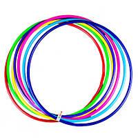 """Игрушка детская """"Обруч цветной 2 средний"""" (75 см) арт 0166 Бамсик"""