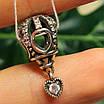 Шарм Воздушный Шар Пандора серебро - Серебряный шарм Подарок Водухоплавателю, фото 2