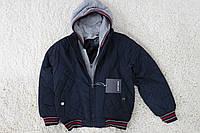 Демисезонная куртка на ( синтепон/ внутри мех -травка) 8 лет