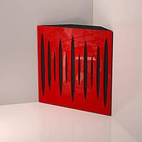 Басовая ловушка «Pulse Trap» Maxi 150 мм (50 x 50 см) Red Gloss