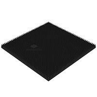 Акустический поролон «Пирамида МИКРО» (1*1 м.) 70 мм Цвет: Черный графит