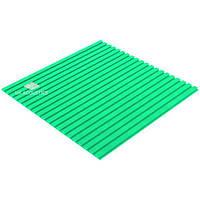Акустический поролон «Линии» 20 мм (1*1 м.) (Изумрудный)