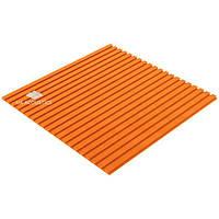 Акустический поролон «Линии» 20 мм (1*1 м.) (Оранжевый)
