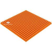 Акустический поролон «Плитка» 50 мм (Оранжевый) | 1*1 м.