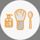 Инструменты, тара и аксессуары для мастеров