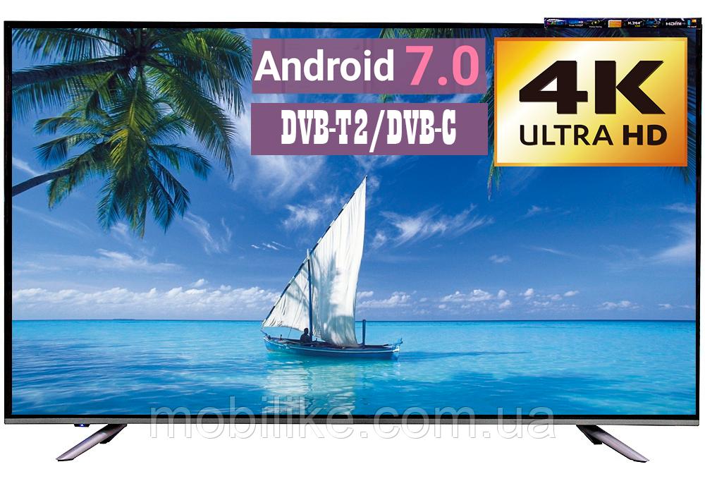"Телевизор LED TV 56"" SmartTV 4К Android 7.0 DVB-T2"