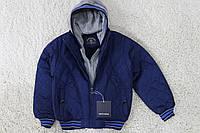 Демисезонная куртка на ( синтепон/ внутри мех -травка) 6 лет