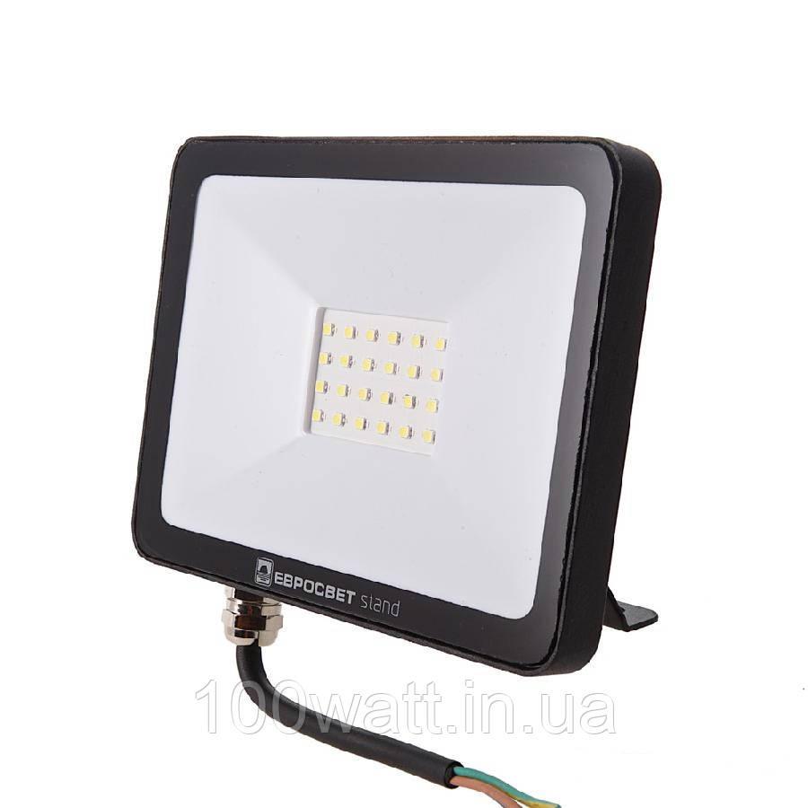Прожектор светодиодный LED 30Вт 6400К EV-30-504 STAND 2400Лм
