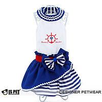 Платье «Якорь и сердце» S/крас