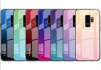 Чехол стеклянный Case Glass  Samsung Galaxy A6Plus/ J8 2018