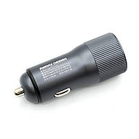 USB Car Charger 2.4A 30W Remax Retour RCC221 автомобильное зарядное устройство (Grey)